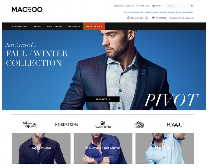 Clothing Ecommerce Website (2)