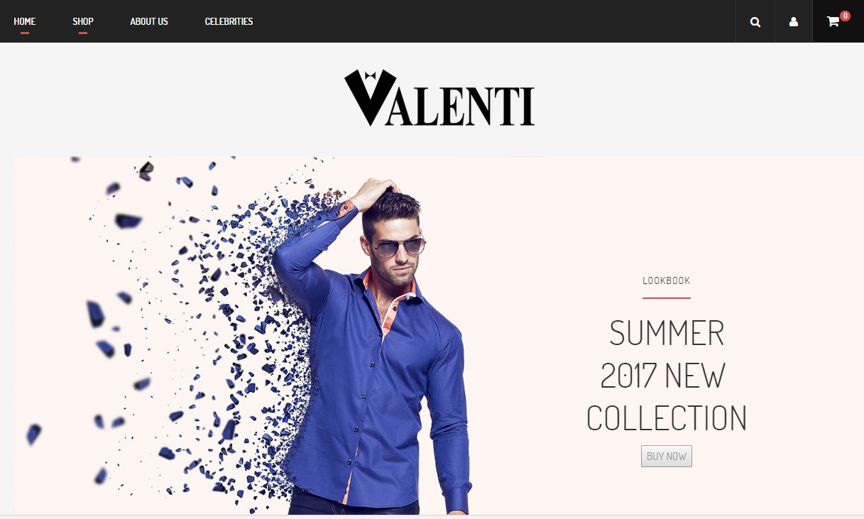 Clothing Ecommerce Website (3)